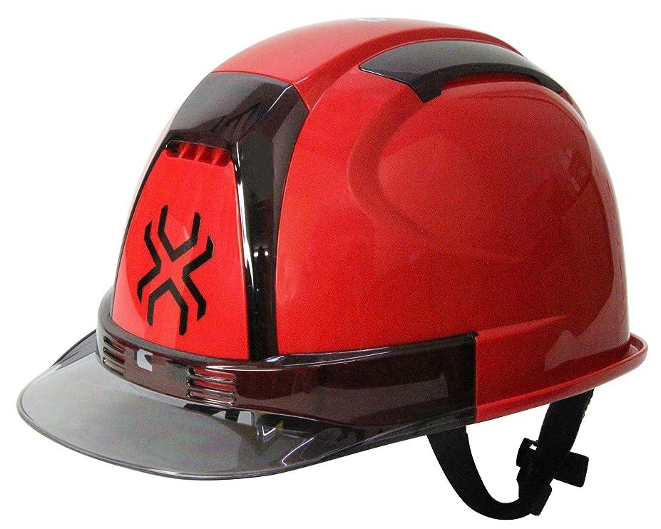 アッティカス不安定パーセントSK11(エスケー11) SPIDER 作業用ヘルメット SPD-No.390Fアカ
