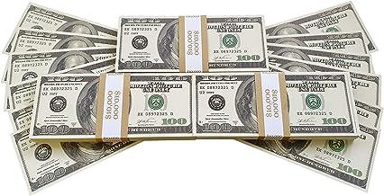 BILLETES DE DOLAR AMERICANOS FALSOS 30 000 IMPRESOS AL ESTILO ANTIGUO FAJO DE BILLETES DE 100 DÓLARES NUEVO Para Pistola de Dinero Cañón de Billetes Película Juguete Falso Dinero Billetes Casino