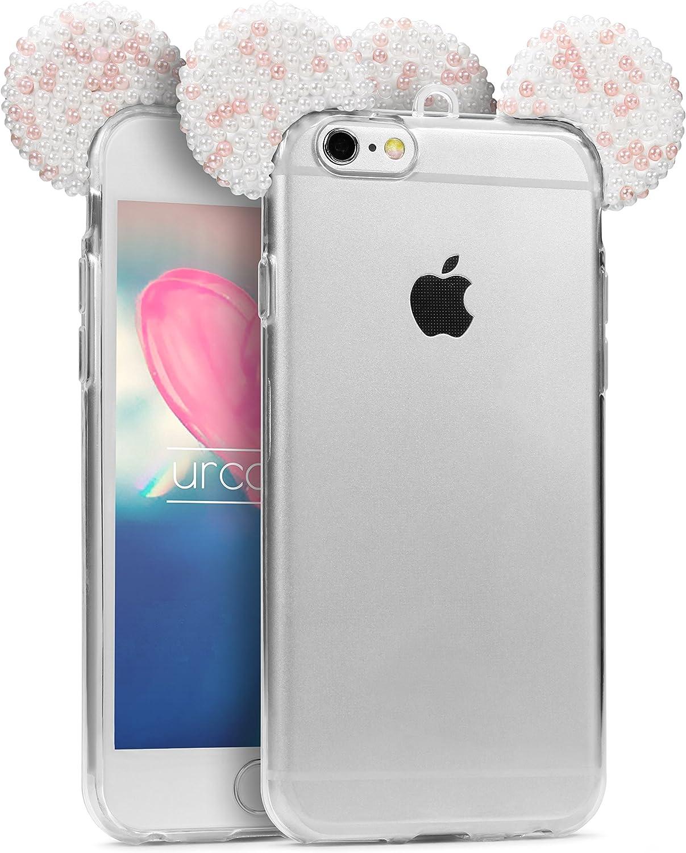 Custodia iPhone 6 Plus / 6s Plus Orecchie Topolino Cover Silicone ...