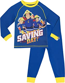 Sam el Bombero - Pijama para Niños - Fireman Sam