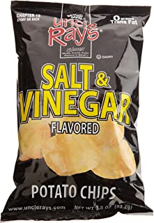 Uncle Ray's Salt & Vinegar Potato Chips, 3-Ounce Packages (Pack of 12)