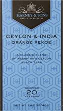 Harney & Sons Black Tea, Orange Pekoe, 20 Tea Bags
