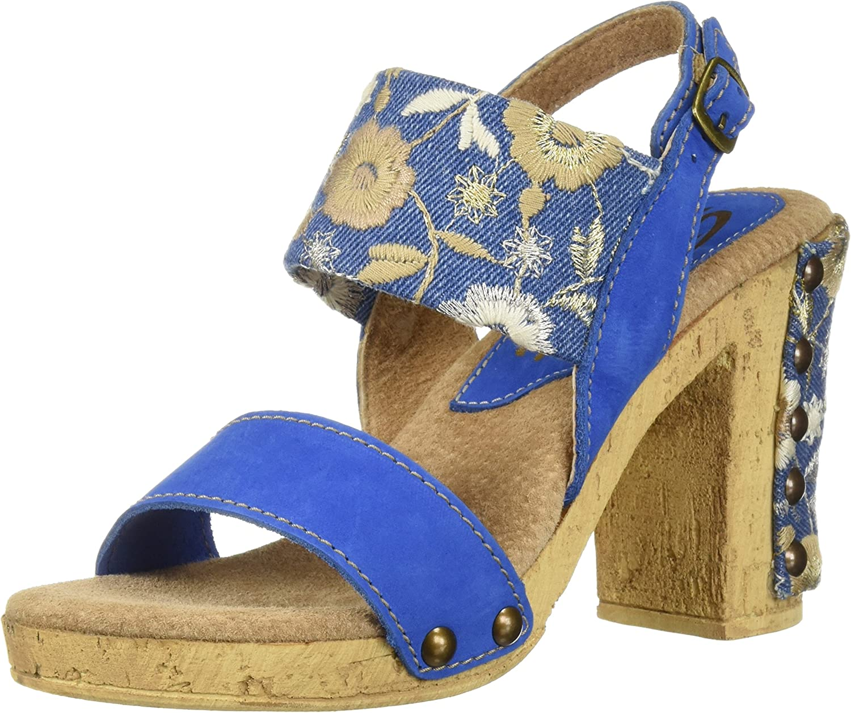 Sbicca Womens Monumental Heeled Sandal