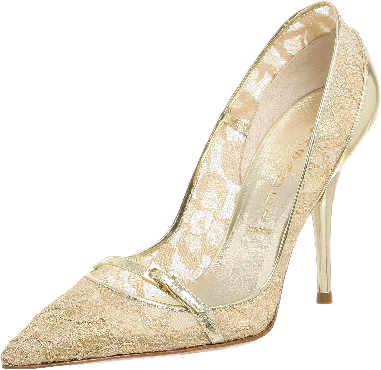 Casadei Super sale Women's 8504 Patent Platform Heel With Mary Albuquerque Mall Glitter Jane