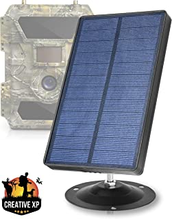 CREATIVE XP Trail Camera Solar Panel Kit - Waterproof...