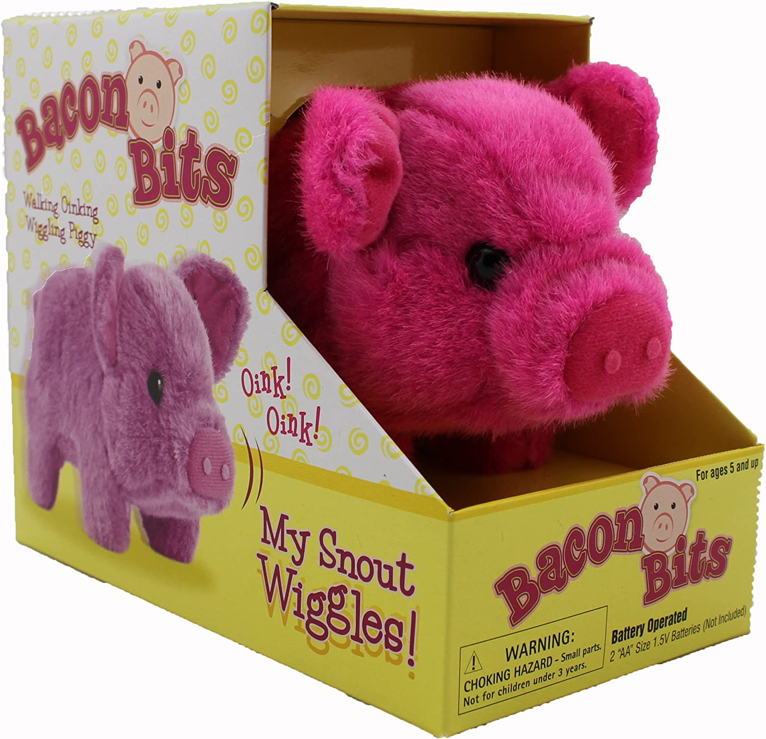 Westminster Bacon Bits, Small Pig, Pink by Westminster