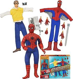 Diamond Select Toys Marvel Retro Spider-Man Limited Edition Action Figure Box Set