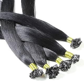 Hair2Heart 150 x 0.5g Extensiones de queratina - 30cm, colore #130 Rojo de cobre, liso