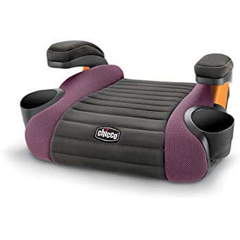 GoFit Backless Booster Car Seat - Grape