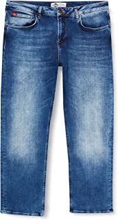 Lee Cooper Men's LeeCooper Jeans, Mid Blue, Standard