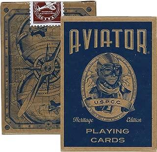 Aviator Heritage Edition Poker Use Playing Cards, 2 Decks