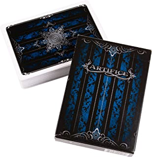 Artifice Deck - Performance Coated Playing Cards (2nd Edition) by Ellusionist - Blue