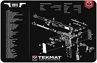TekMat Gun Cleaning Mat for use with 1911 - Black