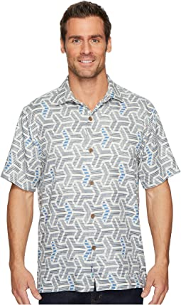 Tommy Bahama Wellington Geo IslandZone Camp Shirt
