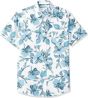 Men's Regular-fit Short-Sleeve Print Shirt