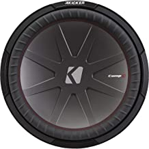 KICKER 43CWR124 12 Inch 1000 Watt 4 Ohm DVC COMPR Car Audio Stereo Subwoofer