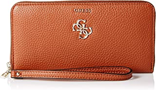 GUESS womens Flora Vg Large Zip Around Wallet