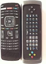 New XRV1TV XRT300 QWERTY Keyboard Remote for Vizio M420SV M470SV M550SV M420SL M470SL M550SL M420SV M470SV M550SV M370SR M420SR M420KD E551VA Internet TV Wiith Vudo/Netflix/Amazon/Wide Key