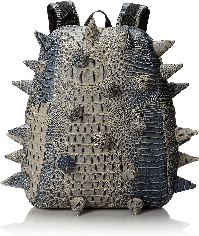 MadPax   Gator Half   Gli originale Zaino 3D (46x35x20cm), Grigio