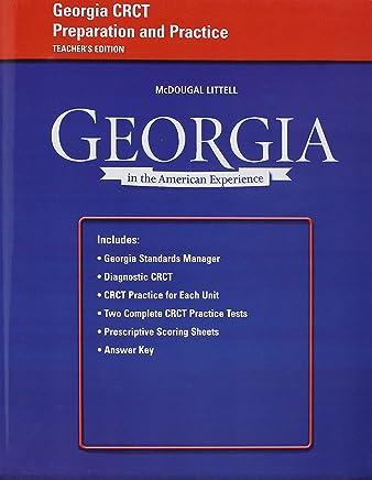 Crct Practice Georgia History Books