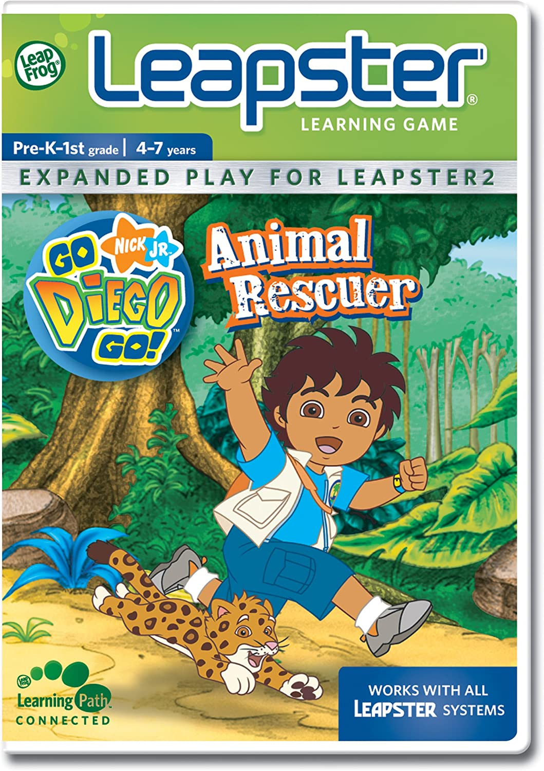 LeapFrog Leapster Learning Bombing new work National uniform free shipping Go Diego Game