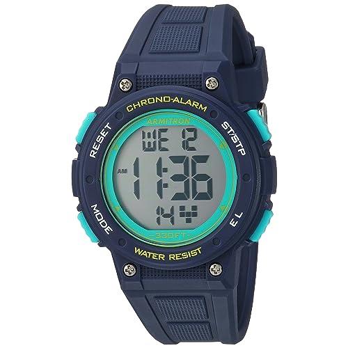 Armitron Sport Womens 45/7086 Digital Chronograph Watch