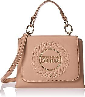 Versace Jeans Couture Satchel Bag for Women- Beige