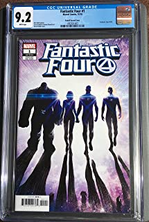 FANTASTIC FOUR #1 CGC 9.2 PICHELL VARIANT COVER - 2018-1ST PRINT!