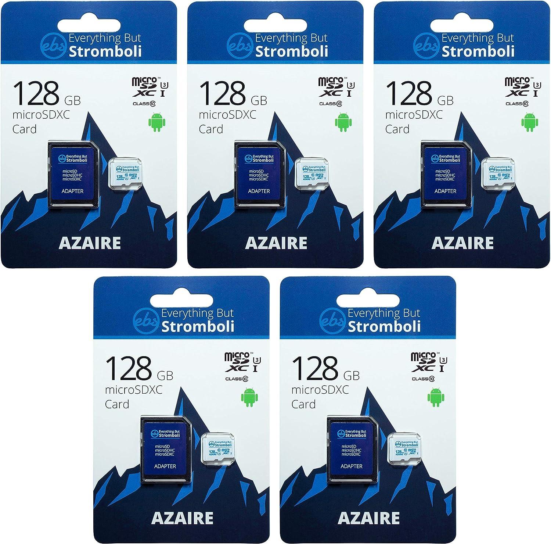 Everything But Stromboli 128GB MicroSD Memory Superlatite New York Mall Card Adap Azaire