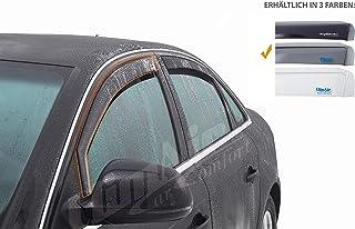 Vordere Windabweiser (1 Set) für die Fahrer und Beifahrerseite CLI0033937 kompatibel zu Honda HR V SUV, TYP RU, 5 Door, 2015