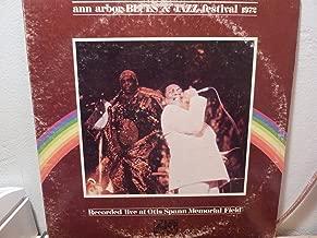Ann Arbor Jazz & Blues Festival, 1972