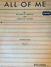 Best all of me simons and marks sheet music Reviews
