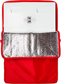"""Innovative Sugarworks Medium Cake Porter with Insulated Cover and Cake Carrier, 18"""" x 18"""" x 28"""", White"""