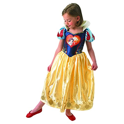 Apple Snow White Girls Ever After High Fancy Dress Childrens Fairytale Costume