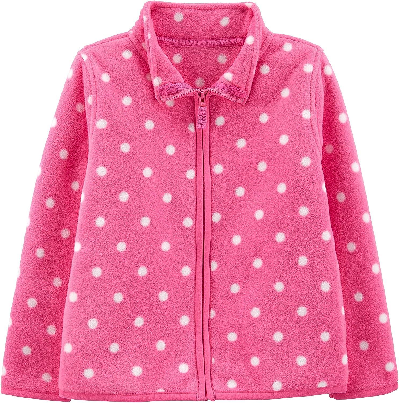 Carters Girls Toddler Poly Fleece Coat