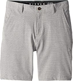 "Fin Rope 4-Way Stretch Hybrid Walkshorts 17.5"" (Big Kids)"