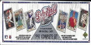 1991 Upper Deck Complete Set (MLB - Baseball - 800 Cards - Chipper Jones RC) (Factory Sealed)