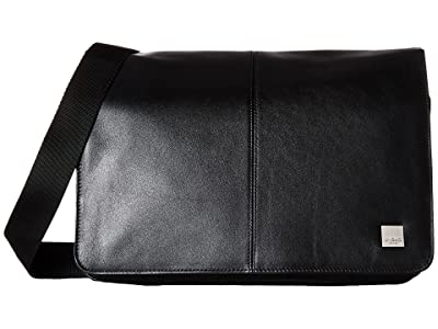 KNOMO London Brompton Classic Kinsale Messenger (Black) Messenger Bags