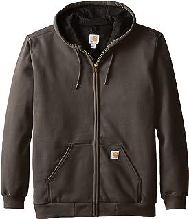 Carhartt Rutland Thermal-Lined Zip-Front Sweatshirt Maglia di Tuta Uomo