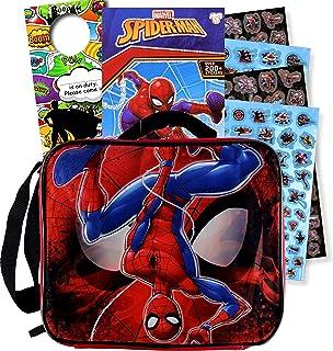 Disney Jr. Soft Rectangular Lunch Bag (Spiderman)