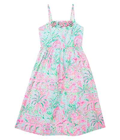 Lilly Pulitzer Kids Bellamy Midi Dress (Toddler/Little Kids/Big Kids) Girl