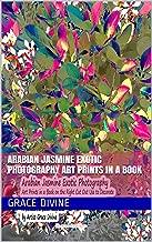 Arabian Jasmine Exotic Photography Art Prints in a Book