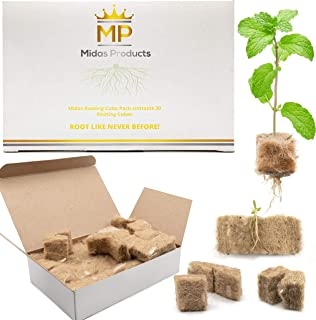 Rooting Hormone Cubes for Cloning Kit - Biodegradable Root Booster for Fast Root Growth - Advanced Cloning Hormone Rockwoo...