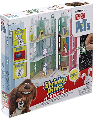 The Secret Life of Pets Shrinky Dinks Playset by ALEX Toys
