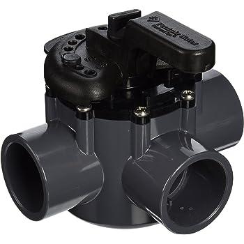 "2/"" PVC Diverter Valve 3 Pack Hayward PSV2SDGR PSV Swimming Pool 2-Way 1.5/"""