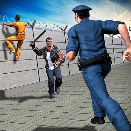 Polizei Chase Vegas Criminal Jail Ausbruch Hard Time Mission: Alcatraz Gefängnis entkommen Überlebensspiel für Kinder frei