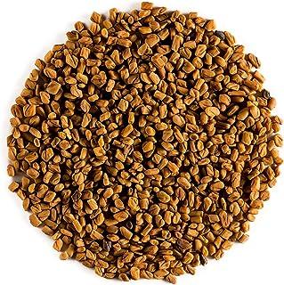 Fenogreco orgánico de calidad semillas - Calidad culinaria - Alholva o Trigonella Foenum-graecum - fenugreco Semilla - Fenugreek seed o Feno greco 100g