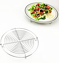 Wire Steamer Kettle Rack Holder Fit For All Pots Pans Up To 4L Cookware Easy Cooking Steaming Vegetables Foods (Small-Dia ...