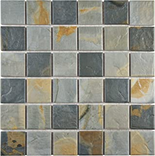 Best gray slate wall tile Reviews