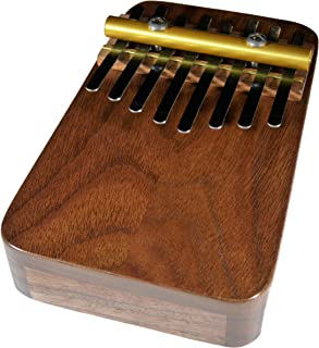 Zither Heaven Artisan Black Walnut 8 Note Thumb Piano with Black Walnut top made in the USA